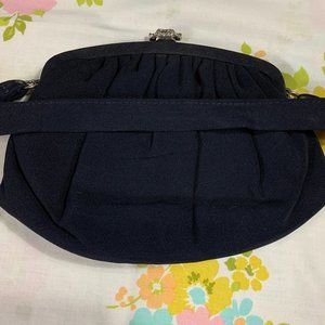 Vintage Bags - 50s Garay Handbag With Attached Coin Purse